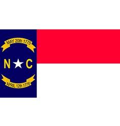 North Carolina vector image vector image