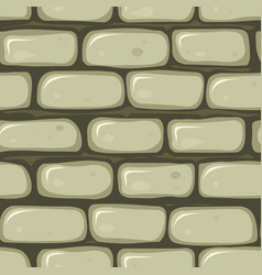 Seamless stone wall vector