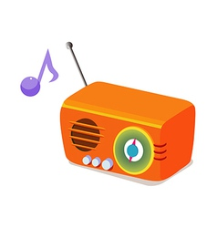Icon radio vector