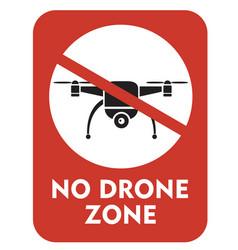 No drone zone vector