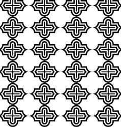 Black and white horizontal marrakesh vector