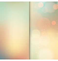 Soft colored abstract vector