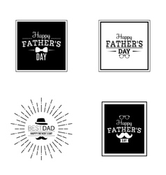 father day labels vector image