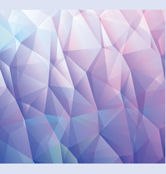 abstract blue background made from triangles vector image vector image