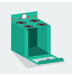 cake box open vector image