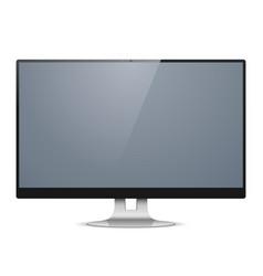 Computer monitor vector