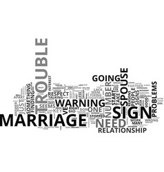 Is your marriage in trouble the answer inside vector