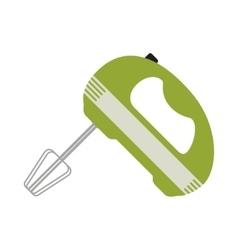 Mixer Icon Card vector image