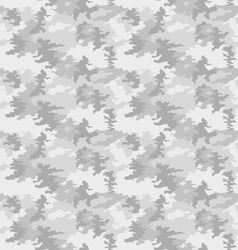 Seamless camouflage fashionable vector image