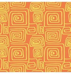 Abstract square pattern spiral vector image