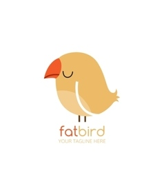 Bird logo design template vector image vector image
