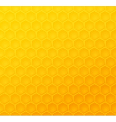 Seamless abstract honeycomb pattern vector image vector image