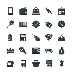 Shopping cool icons 2 vector