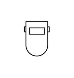 welder mask icon vector image
