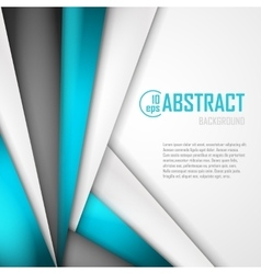 Abstract background of blue white and black vector