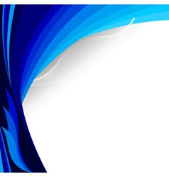 The blue background EPS10 vector image vector image