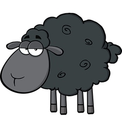 Cartoon sheep vector