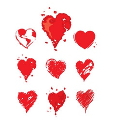 Collection - heart vector