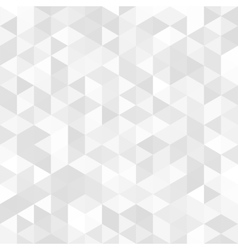 abstract background of triangles vector image