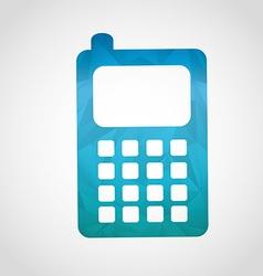 Cellphone icon vector
