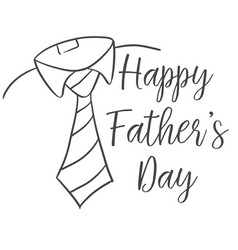 happy father day design style vector image vector image