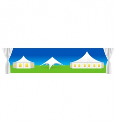Tent illustration vector