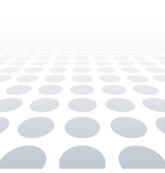 White dotted background of vision perspective vector