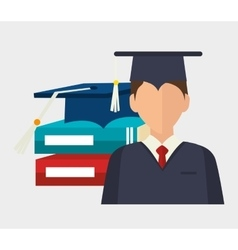academic excellence design vector image vector image