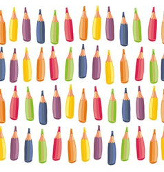 Crayons background vector