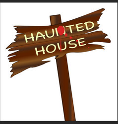 halloween board vector image vector image