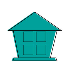 house or home pictogram icon image vector image vector image