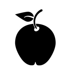 pear fruit health diet pictogram vector image