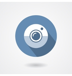 Web camera icon isolated on a white background vector image vector image