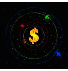 Forex galaxy vector