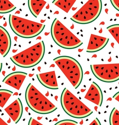 Watermelon background vector