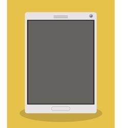 Smartphone gadget and technology design vector