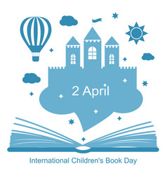International childrens book day vector