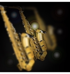Saxophones in different focusing of vector