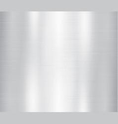 grey metal stainless steel vector image