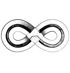 Grunge font symbol vector