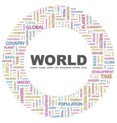 World vector