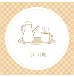 Tea time3 vector