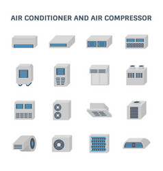 Air conditioner icon vector