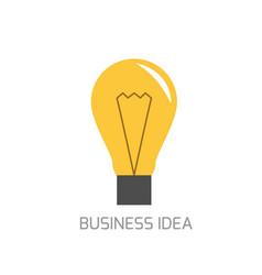 Business idea concept vector
