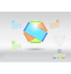Element infographic vector