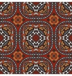 Geometric ethnic tribal indian print vector