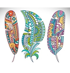 Set feather vector