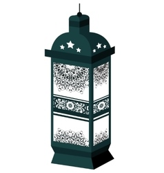 The ramadan lanterns kareem vector