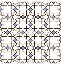 Delicate elegant seamless stylized flower pattern vector