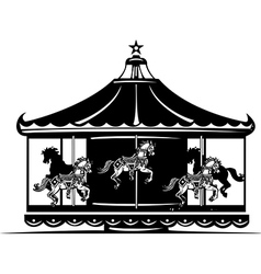 Carousel vector image vector image